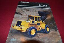 Michigan L70 Wheel Loader Dealer's Brochure DCPA4