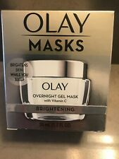 Olay Masks Overnight Gel With Vitamin C 1.7 Oz Brightens Skin While Sleep