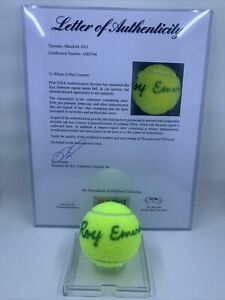 Roy Emerson Signed Wilson Tennis Ball PSA/DNA LOA