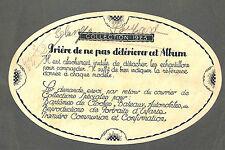 """ART DECO """" DESSUS BOITE DRAGEES BOISLIVEAU LA ROCHE/YON """" DESSIN BARKOFF ?? 1925"""