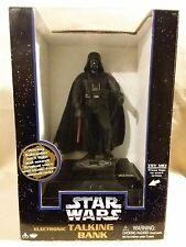 """Star Wars Electronic Talking Bank """"Darth Vader"""" by Think Way 1996"""