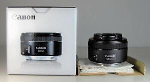Canon Lens EF 50mm f/1.8 STM - #1829b