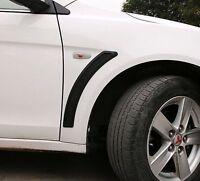 Matt Black Look Side Vents Guards For Mitsubishi Lancer CJ CF EVO ES VRX SPORT