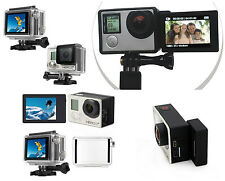 LCD Bacpac Touch Display + LCD Adapter + Back Screen Door Case GoPro Hero 3 3+ 4