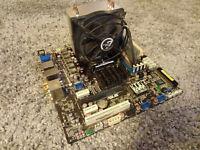 Asus M4A785G-HTPC AMD Athlon II X2 235e, 2700 MHz + 2GB DDR2 Mainboard + CPU