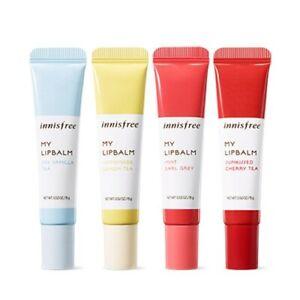 NIB Korean Innisfree My Lip Balm K-Beauty Moisturizer CHOOSE SHADE Jojoba Oil