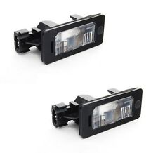 Set of 2 OEM License Plate Lights for BMW E39 E60 E61 E90 E91 E92 Brand New