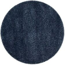 Safavieh SG151-7070-4R California Shag 4' Round Syn. Power Loomed Solid Area Rug