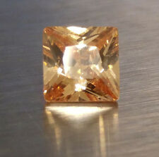 6x6 mm 1.75ct PRINCESS Cut Champagne Simulated Diamond, WITH LIFETIME WARRANTY