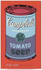 Campbell's Soup Andy Warhol Pop Art Tomato Campbell Poster blau lila Neu 60x100