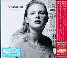 TAYLOR SWIFT-REPUTATION-JAPAN ONLY CD+DVD Ltd/Ed H40