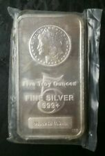 5oz Silver Bar in Plastic