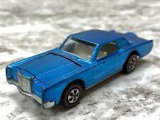 Hot Wheels Redline Custom Continental Mark III Med Blue Adult Collector Toy Car