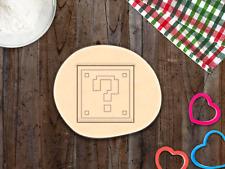 Mario Question Box Super Mario Cookie Cutter Cupcake Topper Fondant Gingerbread
