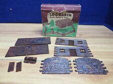 VINTAGE PLASTICVILLE  BACHMANN O LC-2 LOG CABIN  562080