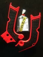 HONDA CRF 450  CRF450 CR450F  2017-2018 ACERBIS RED / BLACK FRAME GUARDS