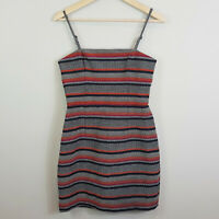 KOOKAI | Womens Striped Mini Dress [ Size 38 or AU 8 / US 4 ]