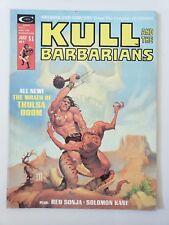 KULL AND THE BARBARIANS #2 (1975) MARVEL COMICS MAGAZINE RED SONJA! SOLOMON KANE