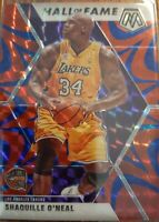 2019-20 PANINI MOSAIC RED PRIZM Hall of Fame Shaquille O'Neal #281
