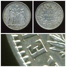 FRANCE  10 francs 1967   HERCULE  ( avec accent )