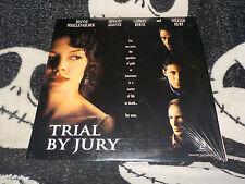 Trial By Jury Laserdisc Factory Shrink William Hurt Gabriel Byrne Free Ship $30