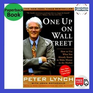 One Up On Wall Street By Peter Lynch   Paperback Book   BRAND NEW FREE SHIPPING