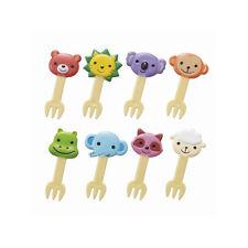 Torune Cute Animal picks forks for Bento Box Lunch Box 8 pieces (14C btm-1348)