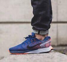 NIKE LUNARGLIDE 7 running baskets chaussures gym-uk 11 (eu 46) rrp £ 110 brave blue
