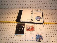 VW 2001 Golf Owner manual's Genuine OEM 1 Booklet with BLACK outer VW OEM 1 Case