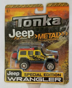 TONKA METAL DIE CAST BODIES JEEP WRANGLER SPECIAL EDITION!