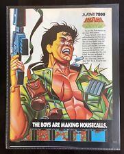 Ikari Atari 7800 - Vintage Gaming Magazine Ad