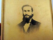 "Picture of Gentleman VINTAGE ANTIQUE Photograph 2.5X4"" 1880"