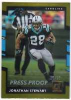 2017 Panini Donruss Football Press Proof Gold /50 #94 Jonathan Stewart Panthers