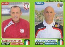579 CASTORI SANNINO ITALIA CARPI.FC CATANIA STICKER CALCIATORI 2015 PANINI
