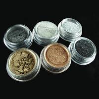 6 Colors Smoky Eye Version Eyeshadow Make Up pigment Glitter Set