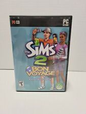 The Sims 2 Bon Voyage Windows PC Complete in Box CIB