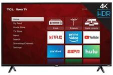 "TCL 50"" LED TV 2160p - Black"