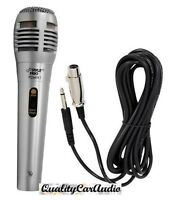 Pyle PDMIK1 Professional Moving Coil Dynamic Microphone +6.5FT XLR/1/4 Cable