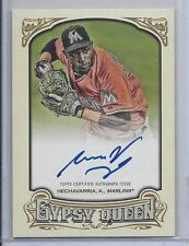 ADEINY HECHAVARRIA 2014 TOPPS GYPSY QUEEN MARLINS ON CARD AUTO