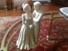 Lenox Wedding Promises Ivory Bride & Groom Cake Topper Figurine Victorian