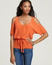 LAUGH CRY REPEAT Open Shoulder Top, Coral, NWT.  Size S.  $148