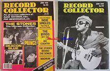 Rivista RECORD COLLECTOR Nr 130/ 1990 Rolling Stones Prince Indie Singles NO cd