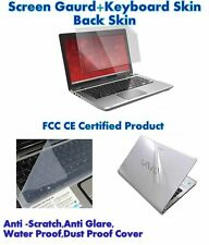 3 IN 1 Laptop skin pack  15.6 Inch, Laptop Screen Keyboard Body Guard/ Protector