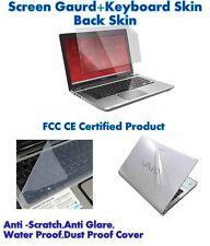 3 IN 1 Laptop skin pack  15.6 Inch, Laptop Screen Keyboard Body Guard/ Protector