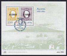 Azoren Block 1, gest., Portugal 1980, used
