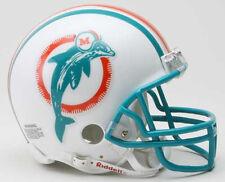 Miami Dolphins 1980-1996 Riddell ProLine Vsr-4 Mini Football Helmet Nfl