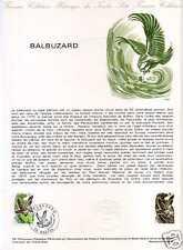 FRANCE Document officiel - Balbuzard  1° jour 14.10.78