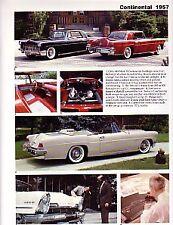 1956 1957 56 57 Lincoln Continental Mark II MKII Mirror Base Arm Bracket NEW