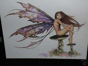 Amy Brown - Faery Wings - OUT OF PRINT - RARE