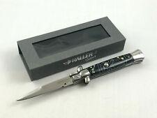 Haller Select Springmesser Taschenmesser Messer Black Mamba G-10 Klassiker
